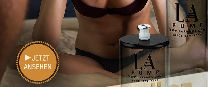 Größer, praller, härter: Die neuen sexy Pumpen von L.A. Pump jetzt auf SinEros.de
