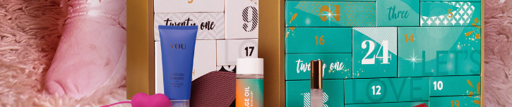 Sinnliche Adventskalender und sexy Geschenkideen - jetzt auf SinEros.de bequem und günstig einkaufen