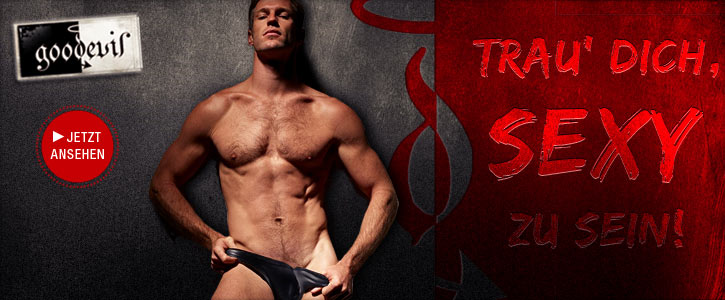 Good Devil: transparent, wetlook, netz: String, Pant, Minipant, Brief, Boxer, Short, Jock, Sling, Pouch, Glory Hole, Cock Ball Strap, C-Ring, weiß, schwarz, rot, blau, grün, gelb, türkis, orange, pink