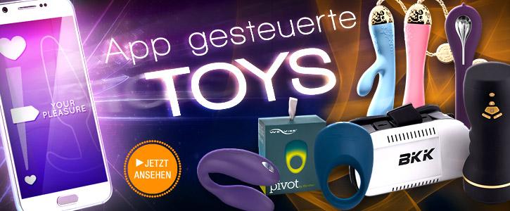 HOT: APP-gesteuerte Toys bei SinEros.de