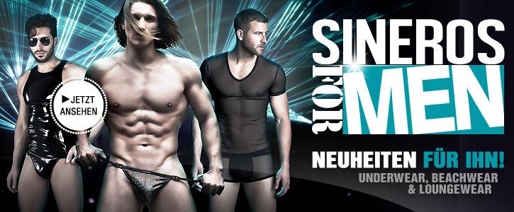 WOW: Sexy Männerwäsche bei SinEros.de
