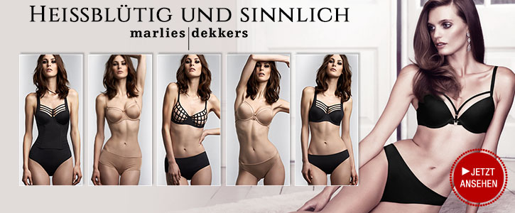 NEU: Dessous Neuheiten von Marlies Dekkers bei SinEros.de