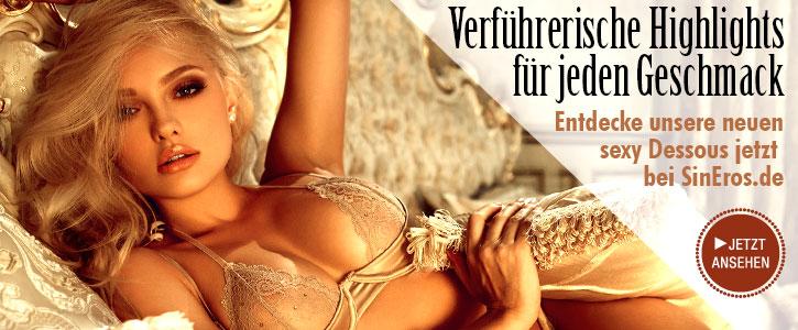 SEXY: Neuheiten für Sie bei SinEros.de