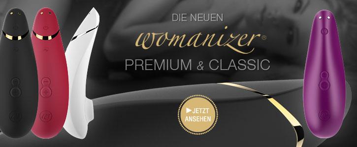 HOT: Womanizer Premium und Classic bei SinEros.de
