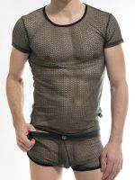 L'Homme Atlas: T-Shirt, army