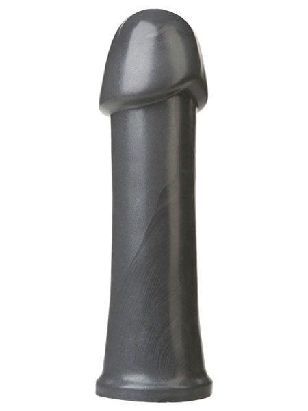 Doc Johnson American Bombshell B-10 Torpedo: Dildo, grau