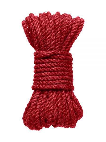Kink Bind & Tie Bondage Rope: Bondageseil (9 m), rot