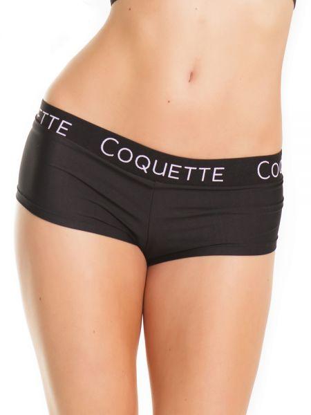 Coquette: Shorty, schwarz