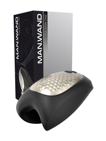 ManWand Pulsion One: Masturbator, schwarz/silber