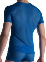 Olaf Benz RED1815: V-Neck-Shirt, royal