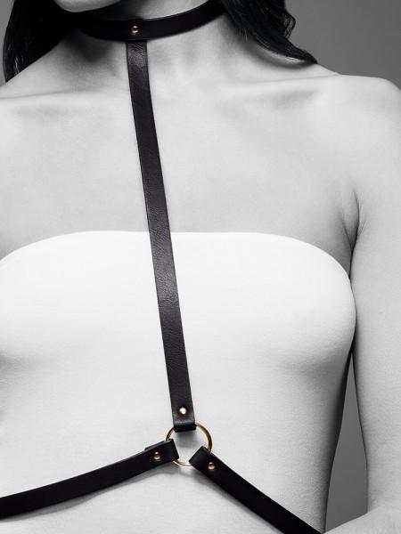 Bijoux Indiscrets Maze: I-Harness, schwarz