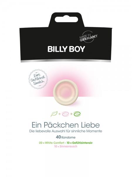 Billy Boy Ein Päckchen Liebe: Kondome, 40er Pack