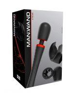 ManWand Xtreme: Wandvibrator-Set, schwarz