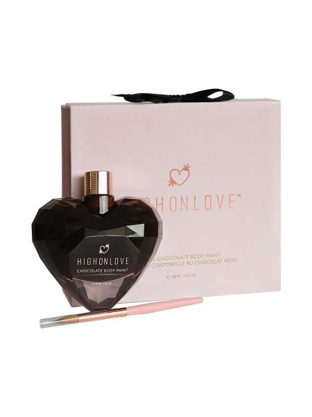 HighOnLove Dark Chocolate Body Paint (100ml)
