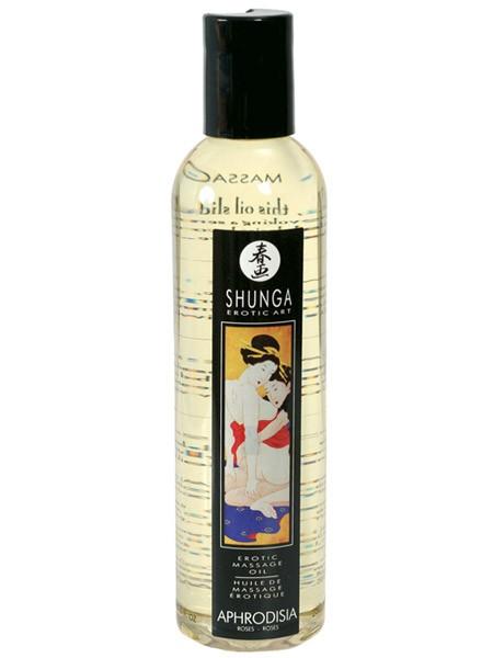 Shunga Massageöl: Aphrodisia Rose (250ml)