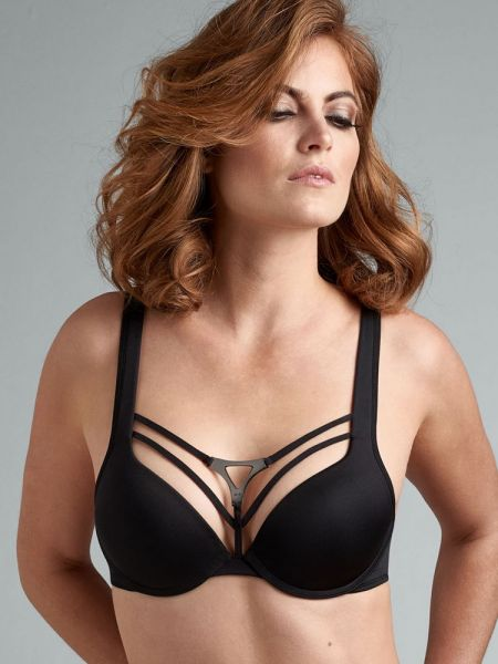 Marlies Dekkers Triangle: Padded Push-Up BH, schwarz
