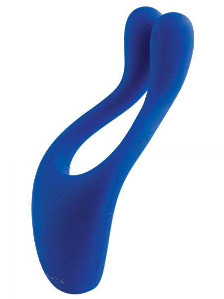 BeauMents Doppio: Massager, blau