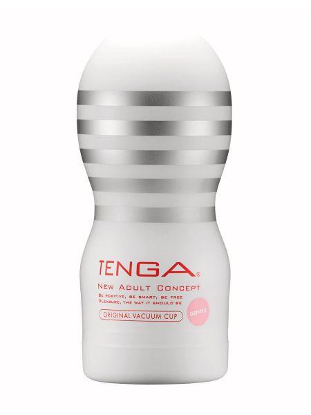 Tenga Original Vacuum Cup Gentle: Masturbator, weiß