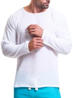 JOR Baru: Longshirt, weiß