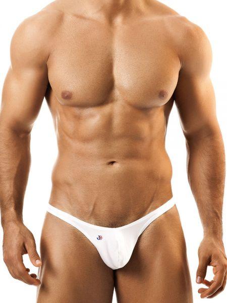 Joe Snyder Bulge01: Bikini Brief, weiß