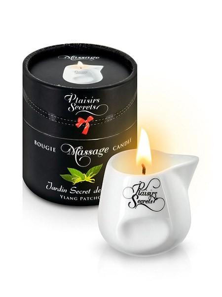 Plaisirs Secrets: Massagekerze Ylang Patchouli (80ml)