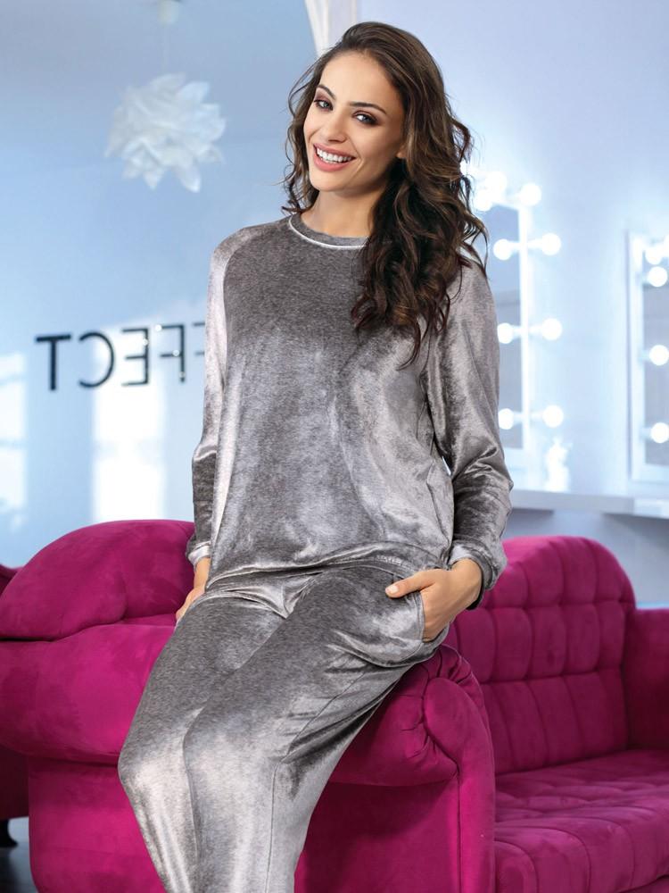 COEMI Glow: Pyjama, silver grey