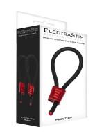 ElectraStim ElectraLoops Prestige: Elektro-Penisschlaufen, schwarz/rot