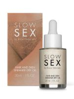 Bijoux Indiscrets Slow Sex Shimmer Dry Oil: Glitzerndes Körperöl (30ml)