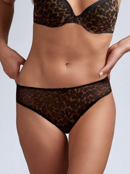 Marlies Dekkers Peekaboo: Brazilslip, leopard print