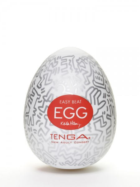 Tenga Keith Haring Party Egg: Masturbator