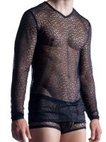 MANSTORE M852: Long Sleeves, schwarz