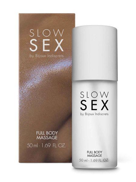 Bijoux Indiscrets Slow Sex Full Body Massage: Massage-Gel (50ml)