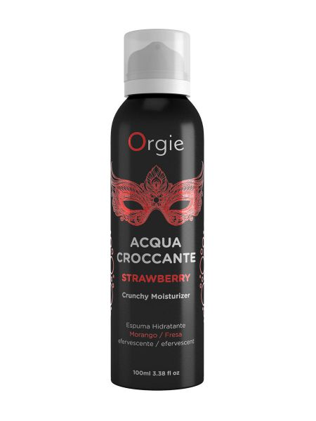 Orgie Acqua Crocante Strawberry: Massageschaum mit Erdbeerduft (100ml)