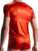 Olaf Benz RED1804: V-Neck-Shirt, copper