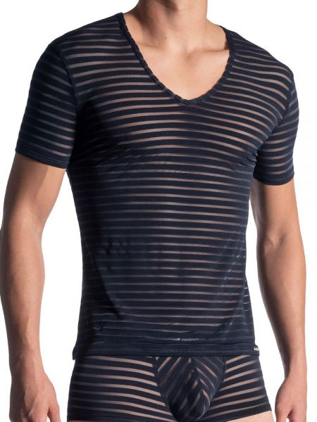 MANSTORE M864: V-Neck-Shirt, night