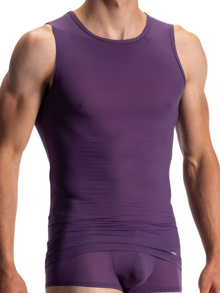 Olaf Benz RED0965: Phantom Tanktop, aubergine