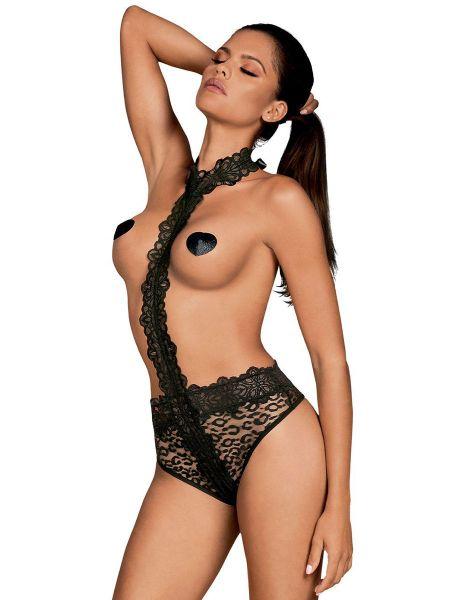 Obsessive Crossita: Ouvert-Body, schwarz