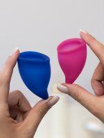 Fun Factory Fun Cup Size Explore Kit: Menstruationstassen-Set, pink & ultramarine