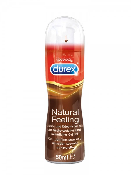 Gleitgel: Durex Natural Feeling (50ml)