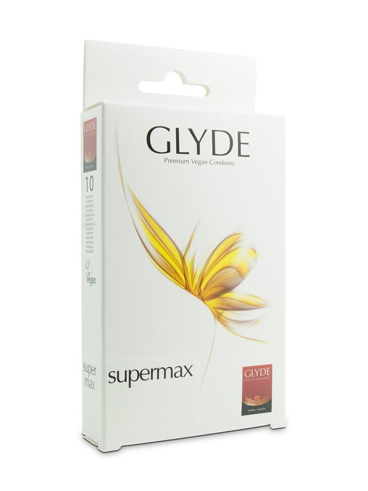 Glyde Supermax: Kondome, 10er Pack
