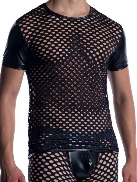 MANSTORE M2054: Casual T-Shirt, schwarz