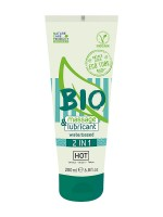 HOT Bio Waterbased 2in1: Gleitgel und Massagegel (200ml)