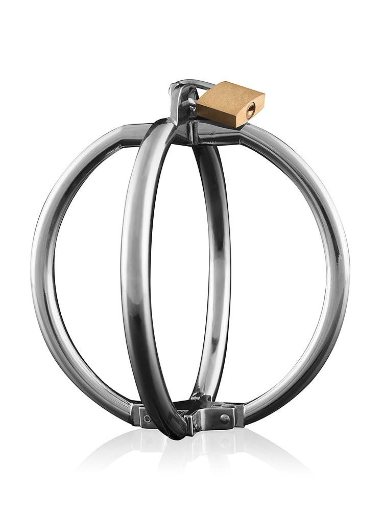 Spherical Cuffs Medium: Metall-Handfesseln