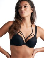 Marlies Dekkers Meringue: Padded Push-Up BH, schwarz