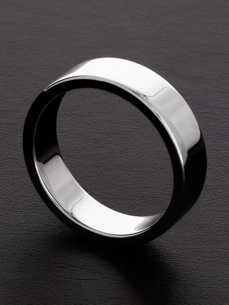 Triune Flat Body C-Ring: Edelstahl-Penisring