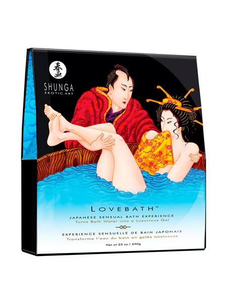 Shunga Love Bath: Ocean Temptations (650g)