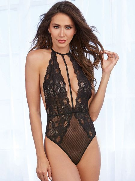Dreamgirl Stringbody, schwarz