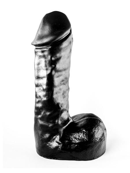 All Black AB65: Dildo, schwarz