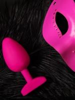 G-Plug Bioskin: Vibro-Analplug, pink