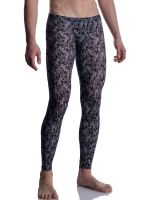 MANSTORE M2005: Bungee Leggings, grau/schwarz